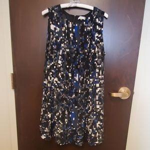 Calvin Klein shift dress with pockets size 2x